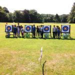 Archery Group at Clowence